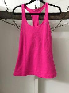 With Love Pink Singlet Size S