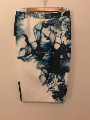 Sheike smoking blue skirt Size 12