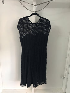 ASOS maternity black lace dress Size 12