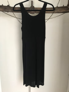 ASOS Black Strappy Back Dress Size 12