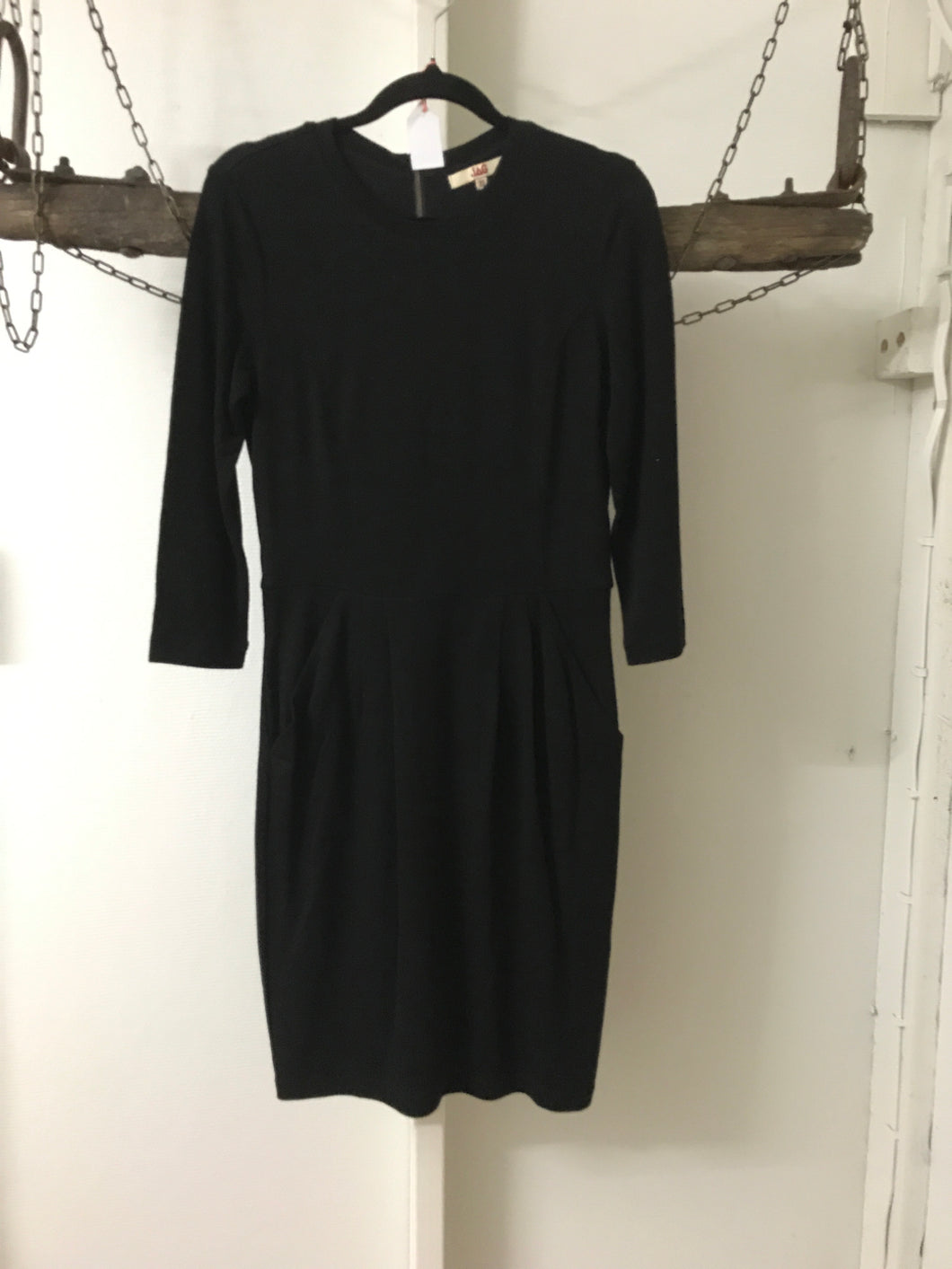 Jag Black Long Sleeve Corporate Dress Size 6