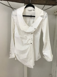 Cue white dress blouse Size 6