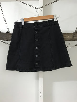 Supre Black Denim Skirt Size 10