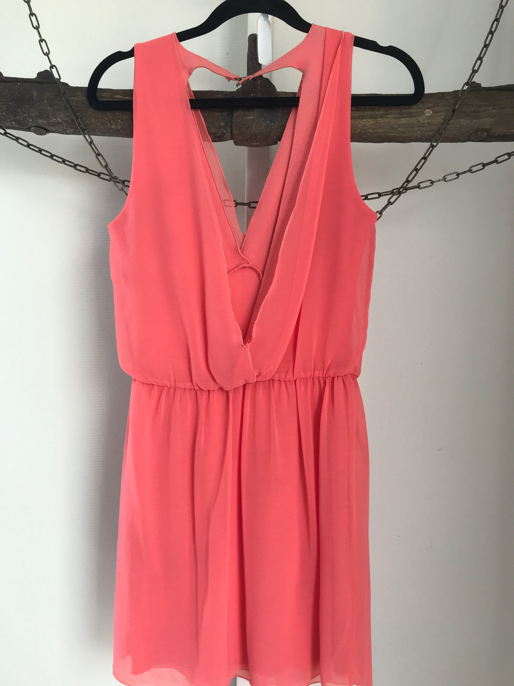 Zara Apricot Dress Size 8