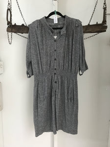 Country Road Grey Button Dress Size 10