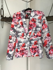 Camilla And Marc Pink/Grey Jacket Size 8