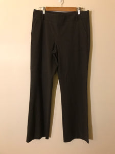 Cue pinstripe charcoal pants suit Size 12