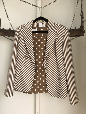 Basler Bronze Spot/stripe Set Top Size 18