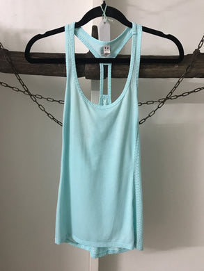 Under Armour Heat Gear Turquoise Singlet Size XS