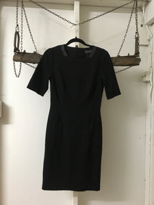 Marc's Black Short Sleeve Corporate Dress Size 6