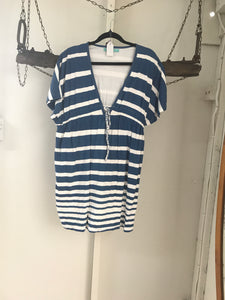 Suboo Blue/White Dress Size 10