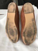 Spur tan flats with bow size 7