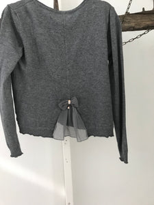 An Lian grey cardigan Size Small (estimate)