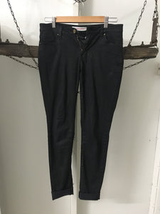 Country Road Black Straight Jeans Size 6