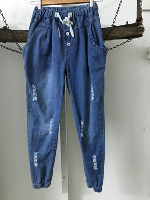 No Label Elastic Ripped Size 6-8