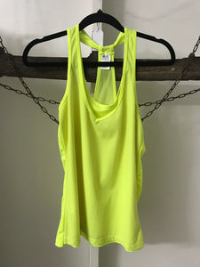 Sports Yellow Singlet Size 8