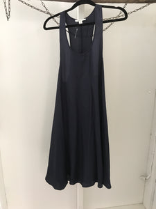 Country road dark navy sleeveless tunic Size 8