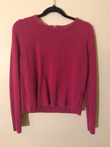Portmans pink long sleeve thick knit Size M (10-12 estimate)