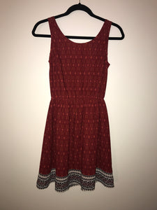 Divided (H&M) sleeveless dark red dress Size 6(US)