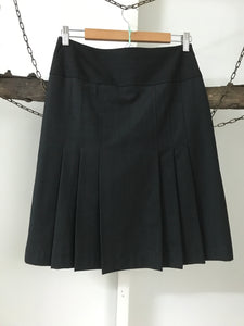 Trendy Elements Charcoal Pleats Skirt Size 10