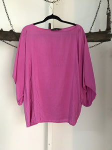 Ralph Lauren Pink Silk Black Label Size 12