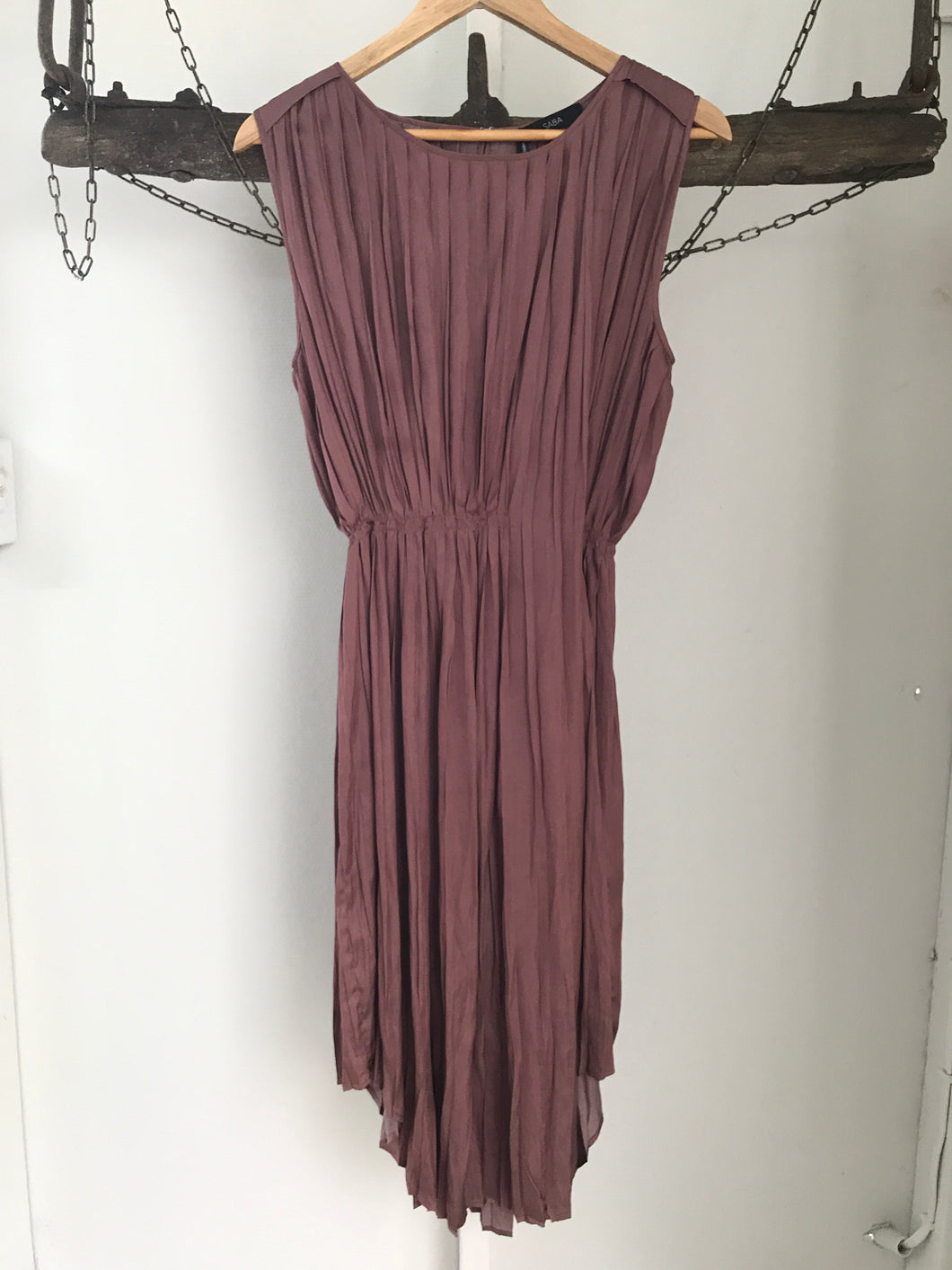 Saba Bronze 3/4 Dress Size 8NWT