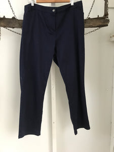 Regatta Navy Straight Pants 16