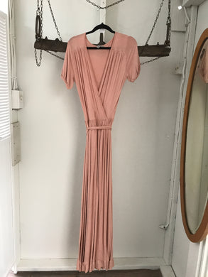 ASOS Pink Long Dress Size 8