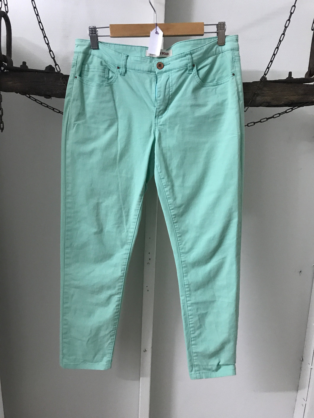 Country Road Green Straight Jeans Size 12