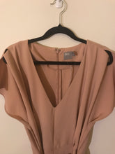 ASOS Nude dress with belt Size 12 NWT