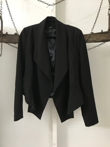 Tokito Black Waterfall Jacket Size 8