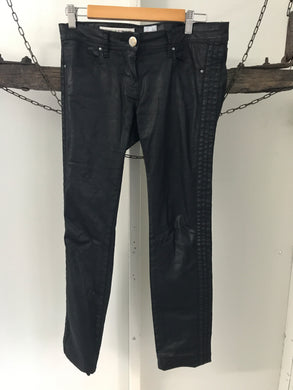 Sass & bide black wet leather look jeans Size 29 (estimated size 10)