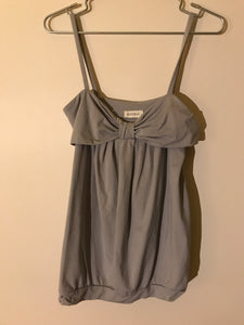 Kookai grey top Size 2 (6-8 estimate)