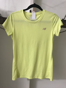 New Balance T Shirt Yellow Size M (10)