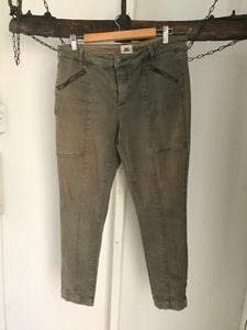 Just jeans light khaki straight pants Size 14
