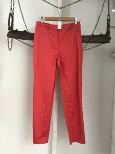 Oroton Orange Capri Pants Size 8