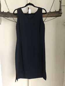 Crossroads Navy Tailored Dress Size 12