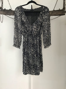 Tokito Leopard Print Dress Size 6