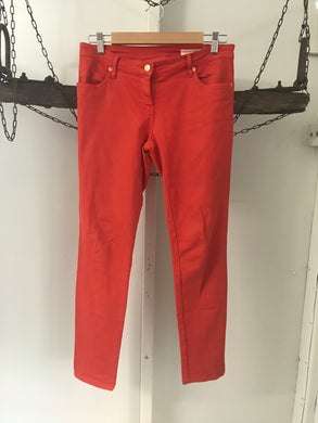 Sass & bide red orange straight jeans Size 29 (estimated 10)