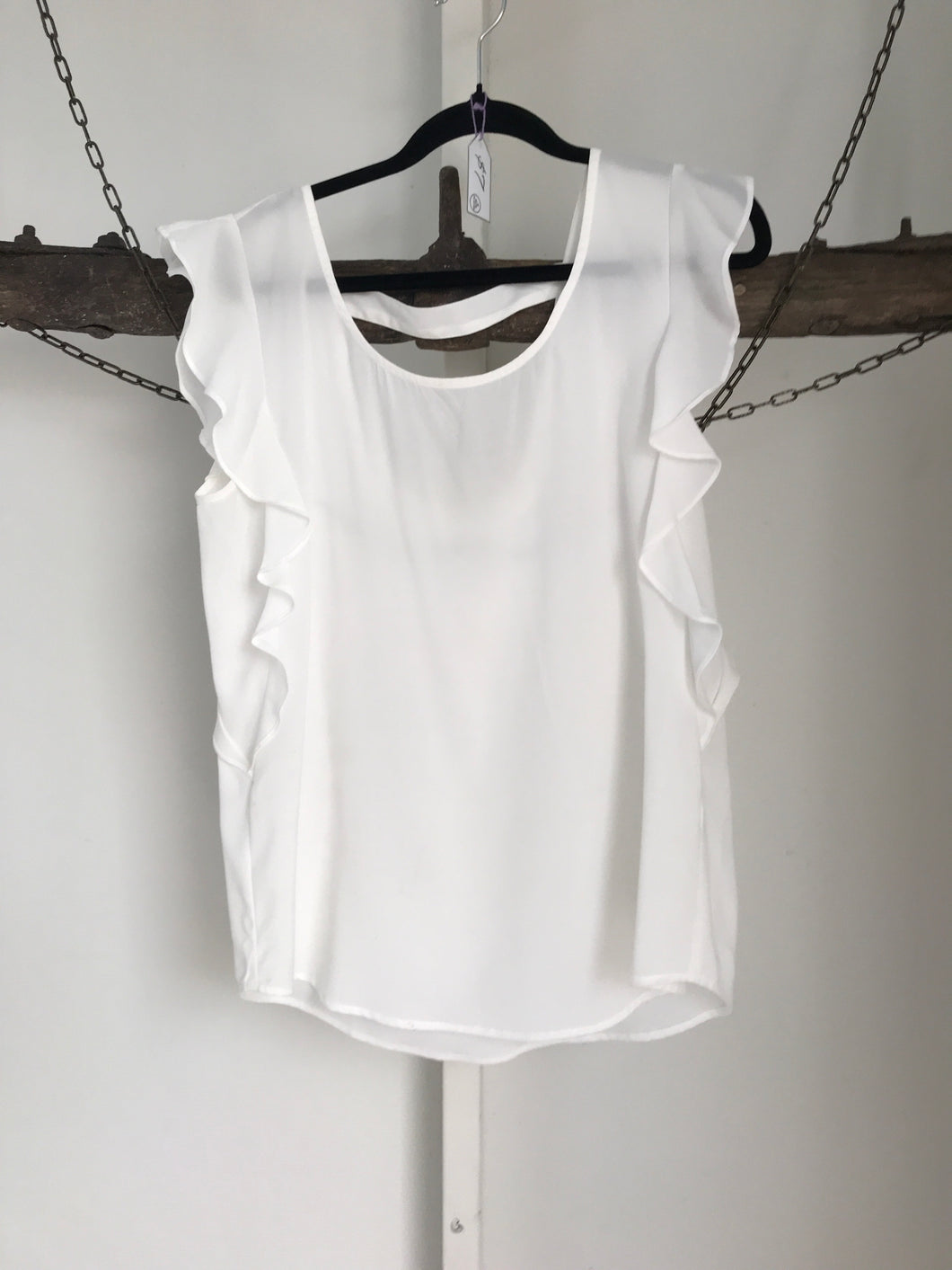 Jeanswest White Top Size 10
