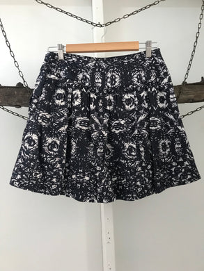 Pilgrim black/grey skirt with side buttons Size 10