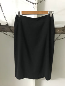 Cue Black Skirt Size 8