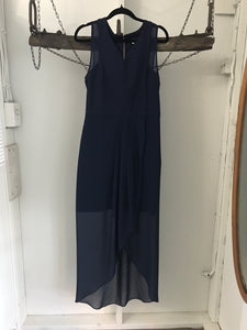 Forever new navy 3/4 evening dress Size 10