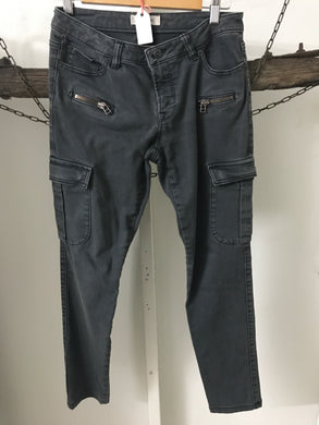 Country Road Grey Cargo Jeans Size 8