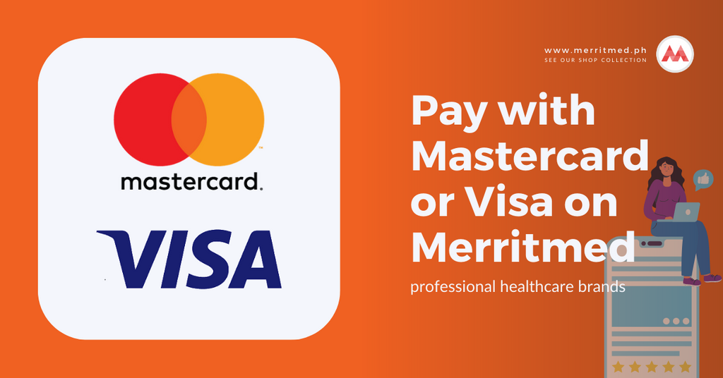 Pay with Mastercard or Visa on Merritmed PH