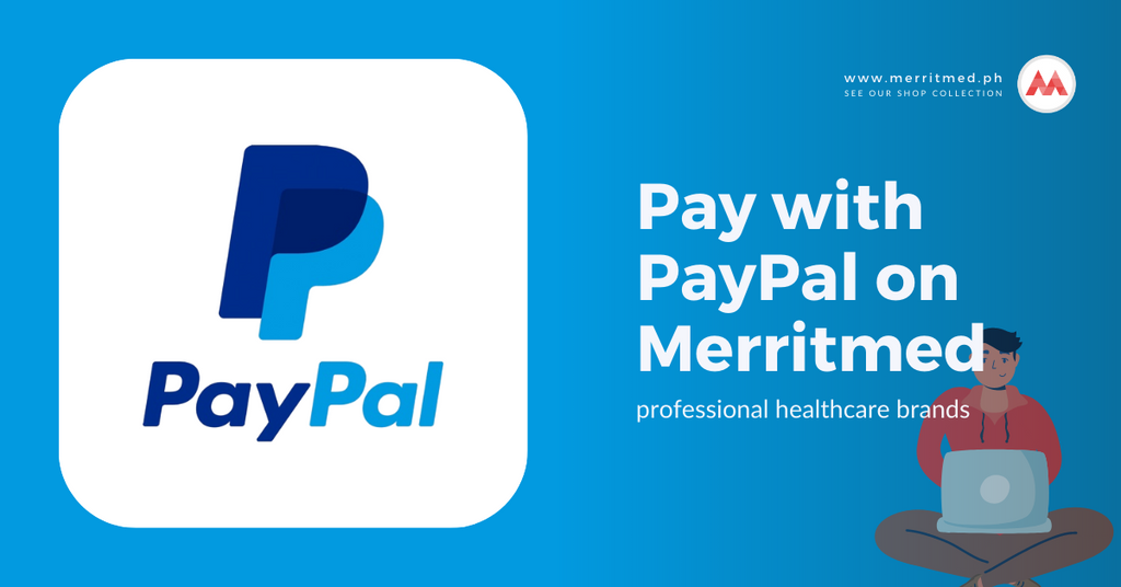 Pay with PayPal on Merritmed PH