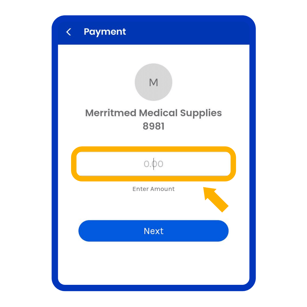 GCash Merritmed Medical Supplies Payment Amount