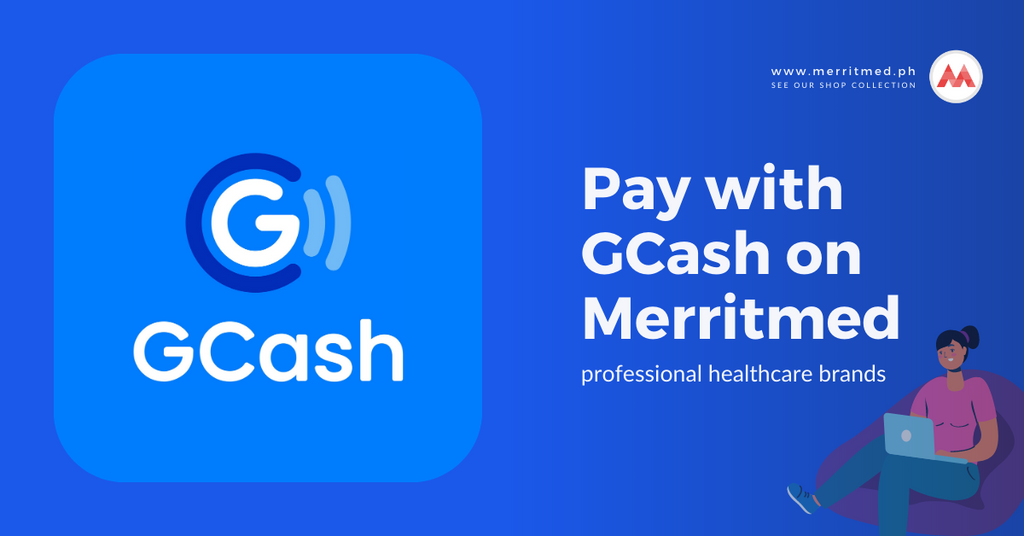 Pay with GCash on Merritmed PH