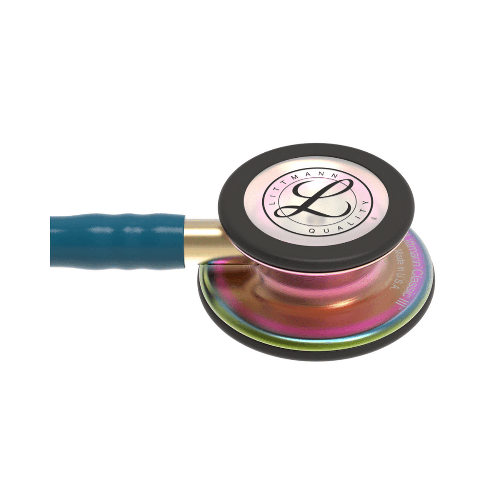 3m littmann classic iii caribbean blue tube rainbow finish stethoscope free engraving philippines
