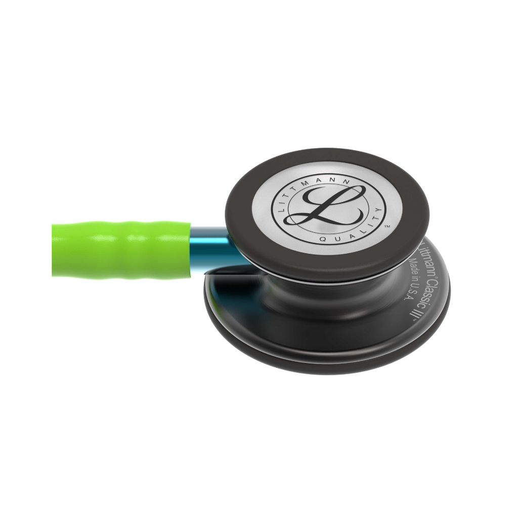 3m littmann classic iii lime tube smoke finish blue stem stethoscope free engraving philippines